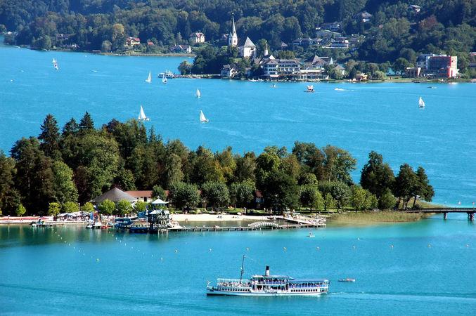 Озеро Вёртер-Зе (Вёртское озеро), Клагенфурт