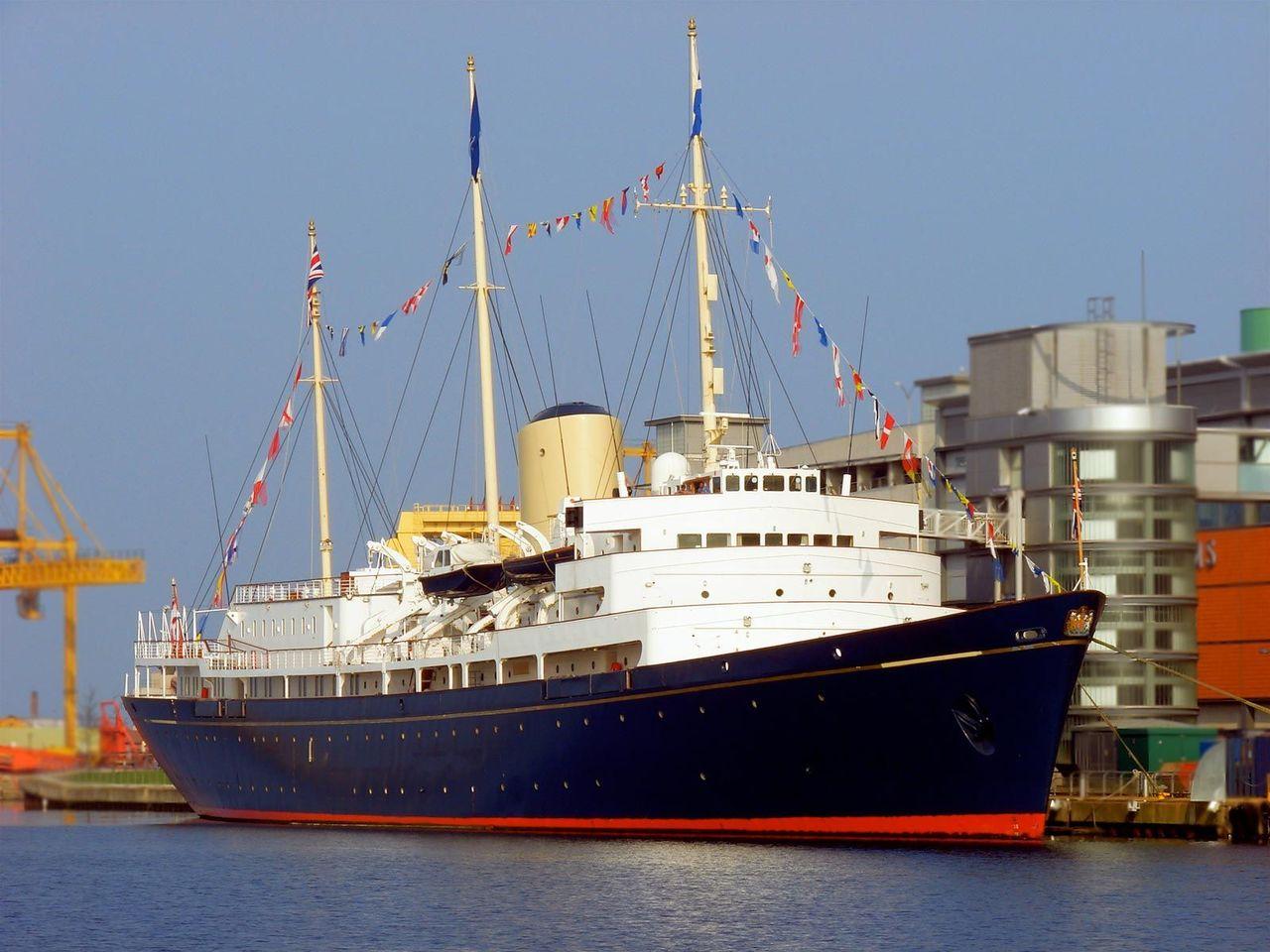 Королевская яхта «Британия», Эдинбург