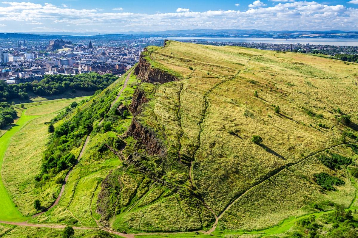 Трон Артура, Эдинбург