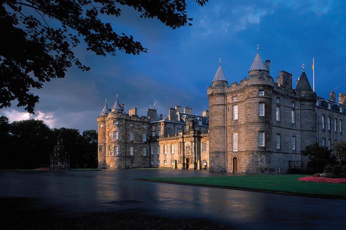 Холирудский дворец, Эдинбург