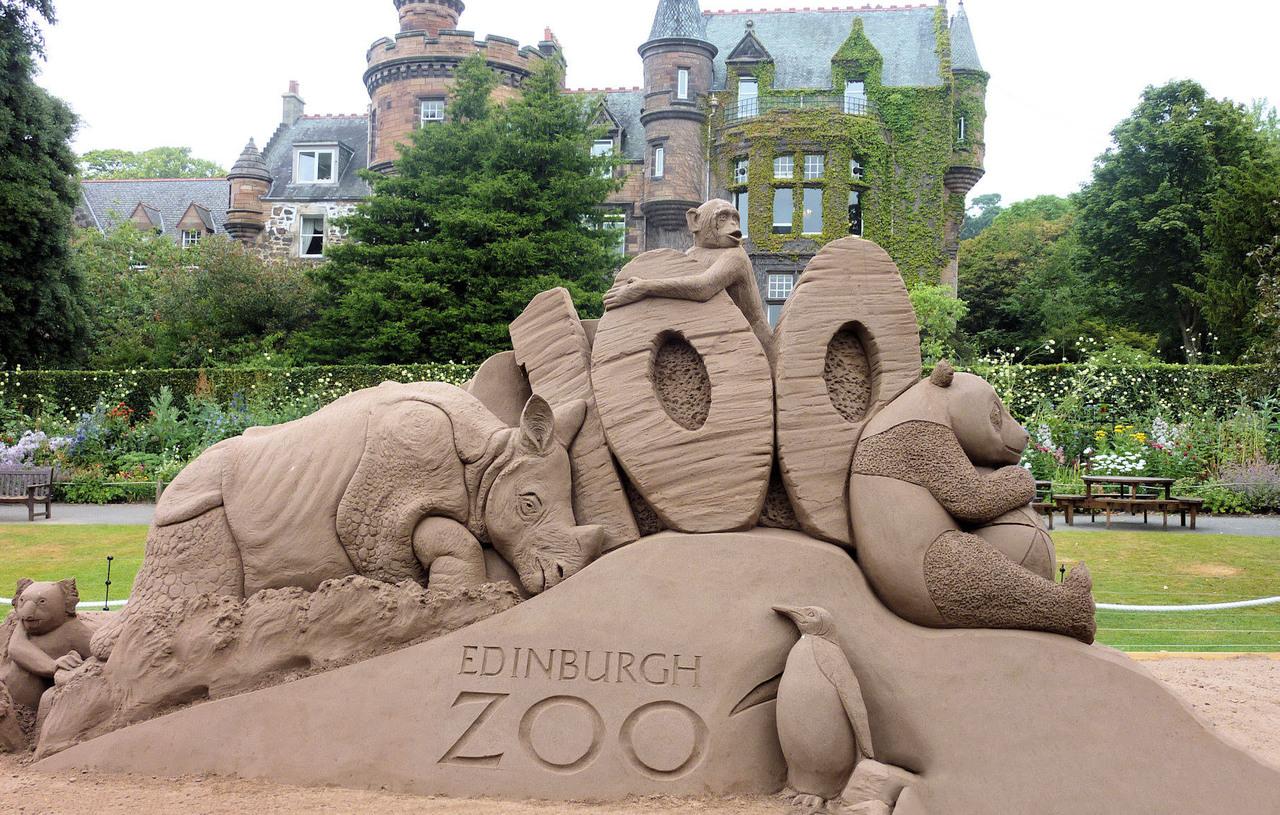 Эдинбургский зоопарк, Эдинбург