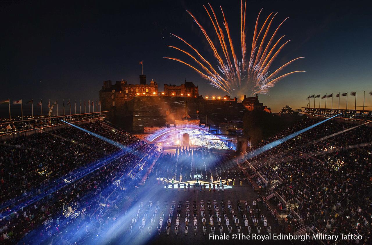 Королевский Эдинбургский парад военных оркестров, Эдинбург