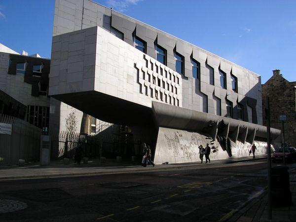 Здание Шотландского парламента